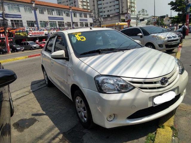 Toyota Etios X 1.5 completo 2016 _ entrada apartir de 7mil + fixas 565,00 - Foto 5