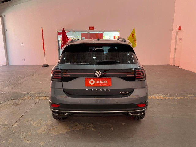 Nova VW Tcross 1.0 TSI com Somente 18.500 km rodados - Foto 4