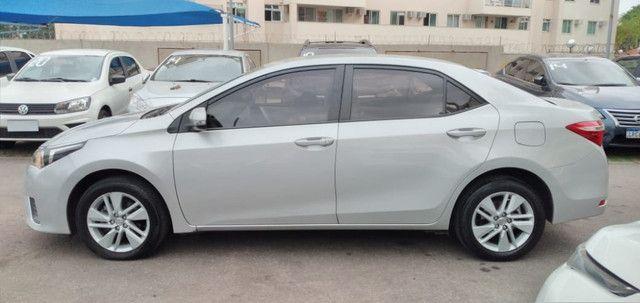 Corolla GLI 1.8 Flex/GNV. C/Entrada+48x1204 Fixas - Foto 4