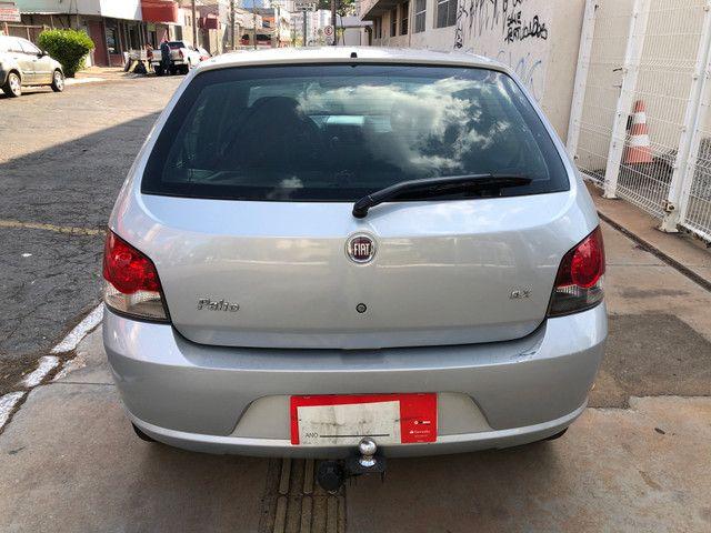 Fiat Palio Attractive Completo 1.0 Flex 4 Portas Prata 2007/08 - Foto 5