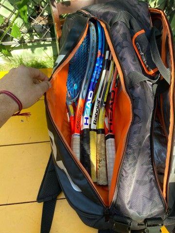 Raqueteira HEAD TOUR TEAM 6 raquetes  - Foto 5