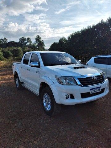 Toyota/Hilux Cd Srv 4x4 2015 - Foto 2