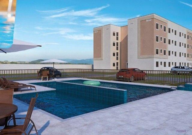 apartamento com 43m³, 2 quartos- casa de bourbon