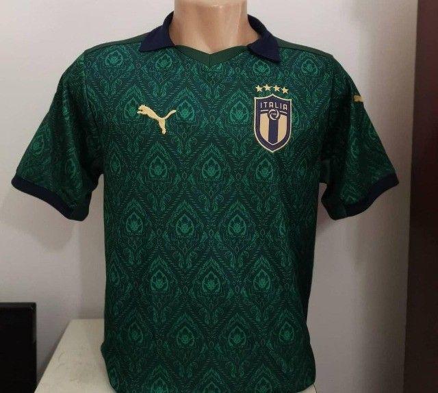 Camisas de time  1 linha nacional - Foto 4
