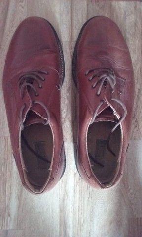 Sapato Masculino Social Sergios Em Couro - Foto 2