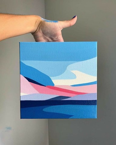 Pinturas abstratas  - Foto 6
