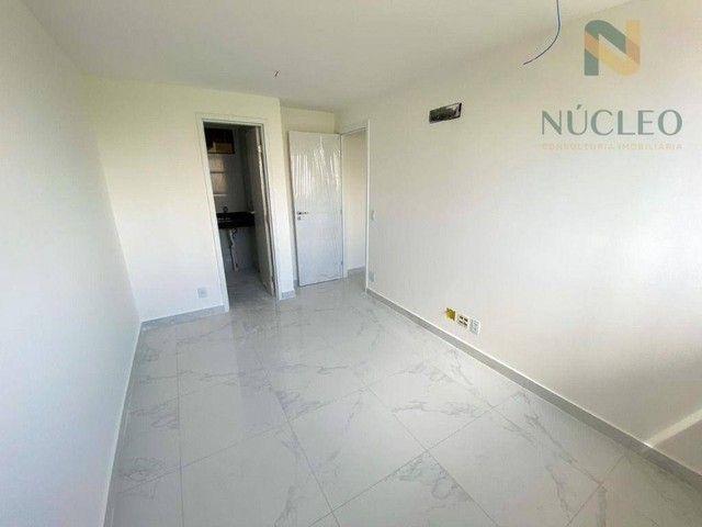 Apartamento com 2 dormitórios à venda, 59 m² por R$ 360.000 - Cabo Branco - João Pessoa/PB - Foto 6