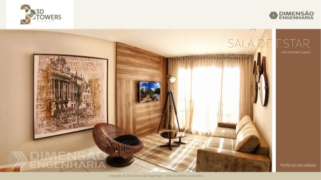 condominio dimensão, 3d towers - Foto 3