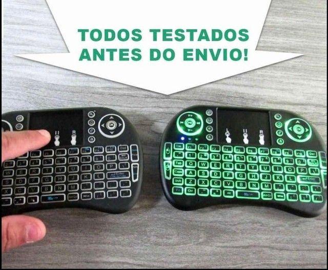 Mini Teclado Controle Sem Fio Com Touch - Foto 2
