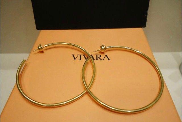 Brincos Angola Vivara em ouro amarelo 18k, com certificado. - Foto 2