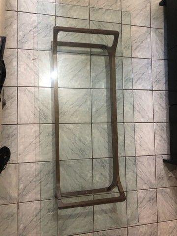 Mesa tampo de vidro  - Foto 2