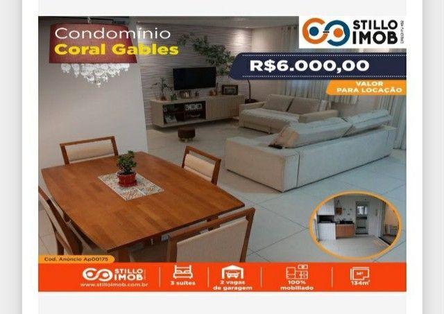 #2906 Aluga-se Apto Mobiliado Coral Gagles  - Foto 3