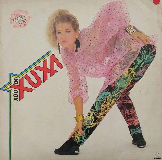 Lote Com 7 Lp (disco De Vinil) Da Xuxa
