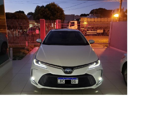 Corolla Altis Premium Hybrid 2022, 3.000km, Teto Solar, Flex e Elétrico - Foto 19