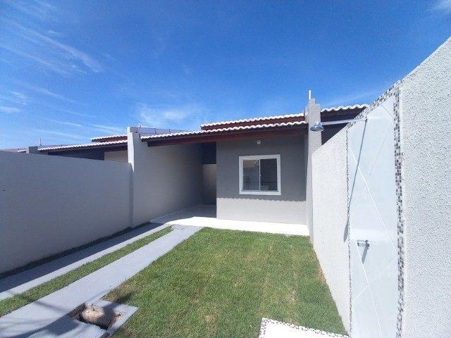 WS casa nova com 2 quartos 2 banheiros com documentação inclusa - Foto 2
