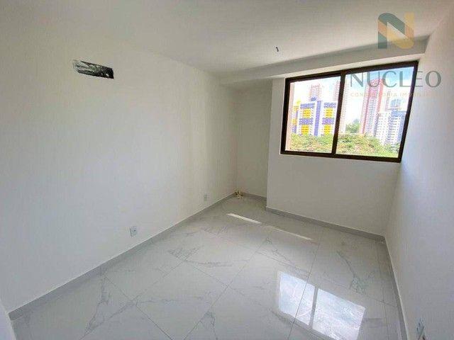 Apartamento com 2 dormitórios à venda, 59 m² por R$ 360.000 - Cabo Branco - João Pessoa/PB - Foto 4