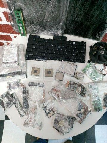 Vendo kit de várias peças p notebook e pc  - Foto 2