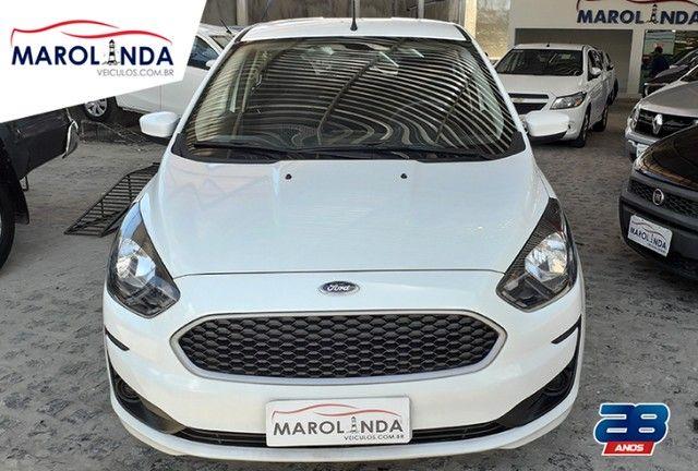 Ford Ka 1.0 SE Ipva Pago-Garantia de Fábrica - 2020 - Foto 2