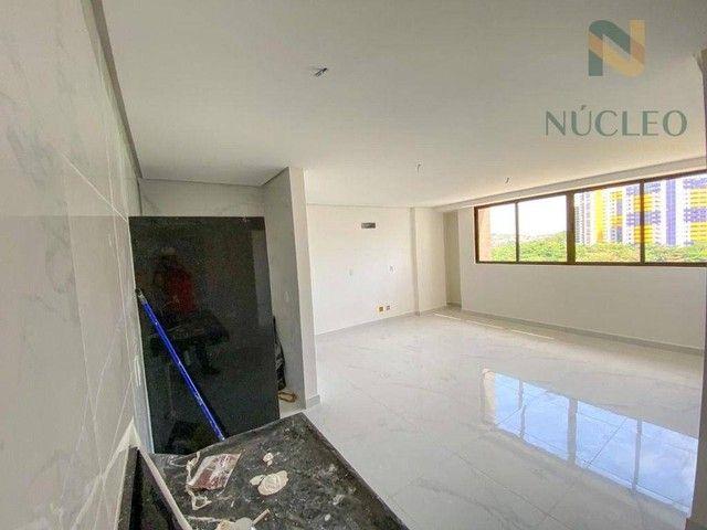 Apartamento com 2 dormitórios à venda, 59 m² por R$ 360.000 - Cabo Branco - João Pessoa/PB - Foto 3