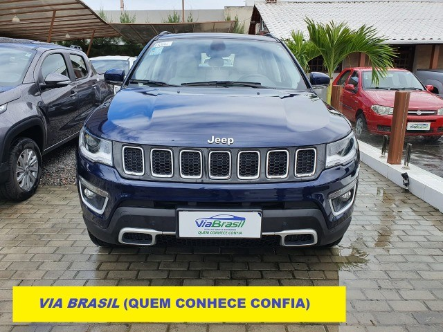 Jeep Compass Limited Diesel 4x4 AT9 (2021) Com Teto e Anenas 9.000 Kms