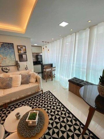 AB311 - Apartamento com 03 quartos/projetados e ar condicionado - Foto 3