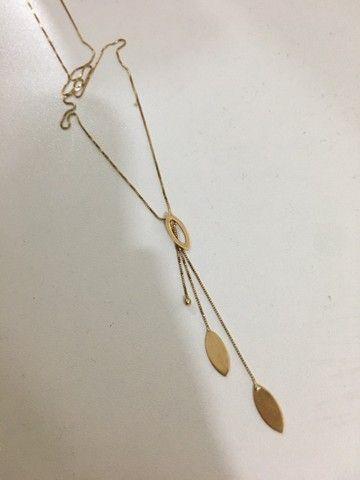Correntinha de ouro + pingente NUNCA USADA - Foto 2