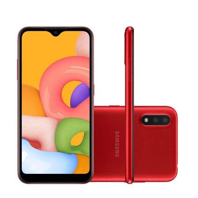 Samsung Galaxy A01 - Vermelho