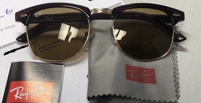40cf9800861e7 Oculos rayban original nunca usado - Bijouterias, relógios e ...