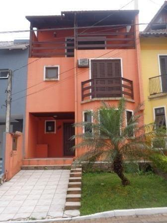 Casa de condomínio à venda com 3 dormitórios em Guarujá, Porto alegre cod:405190