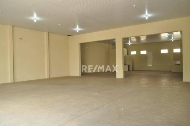 Barracão para alugar, 313 m² por r$ 4.970/mês - vila são jorge - presidente prudente/são p - Foto 3