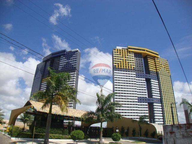 Apartamento com 3 dormitórios à venda, 99 m² por r$ 350.000,00 - ponta negra - natal/rn