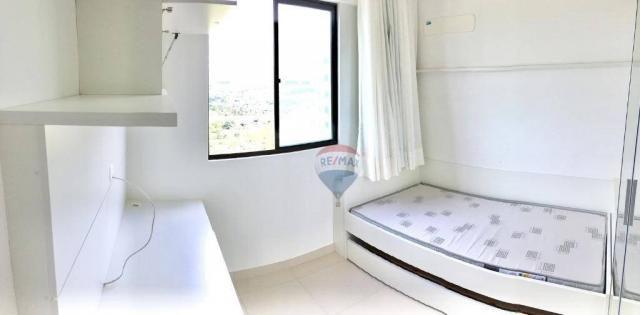 Apartamento com 2 dormitórios à venda, 52 m² por r$ 239.990,00 - ponta negra - natal/rn - Foto 13