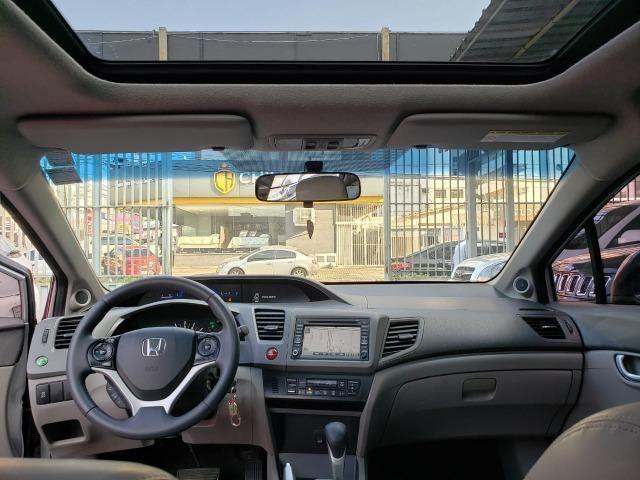 Honda Civic EXR 2.0 13/14 flex aut. prata - Foto 12