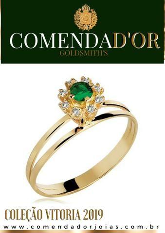 Anel de formatura, em Ouro, a partir de R$:450,00 a vista!