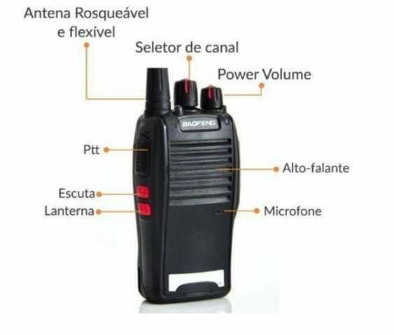 Rádio Comunicador Baofeng BF-777S - Foto 2