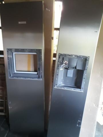 Portas de side by side.electrolux