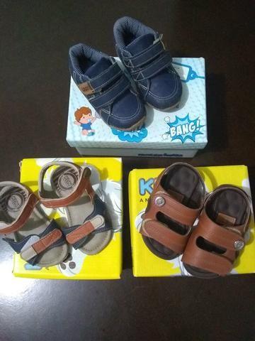 Vendo lote de sapato de menino e tapete de Eva - Foto 4