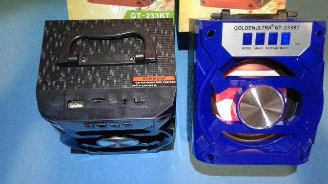 Caixa De Som Bluetooth Portátil ( Promoção ) - Foto 2
