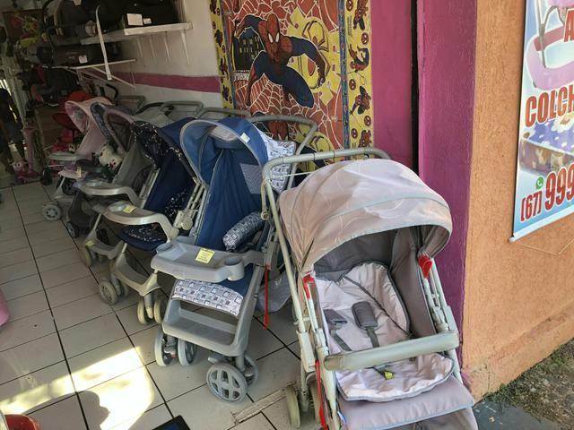 Carrinho de Bebe Galzerano Estampa Unissex - Foto 3