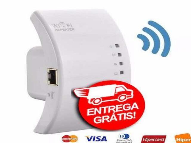 Produto.novo.na.caixa-Repetidor Sinal Wifi com Wps - Foto 5