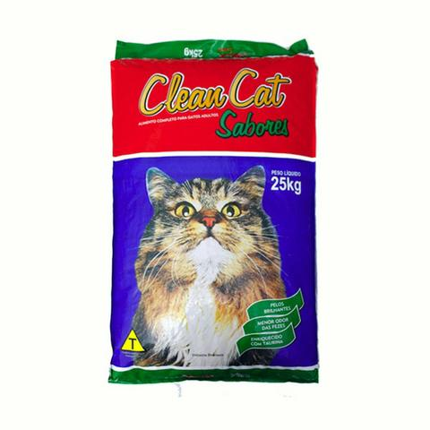 Ração Clean cat 25 kg