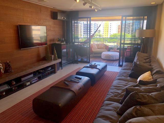 Apartamento com 180 metros, 3 suítes, mobiliado e decorado com vista para o mar - Foto 4