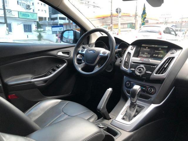 Ford Focus Sedan Tittanium 2.0 flex Automatico 2015! Top de linha!! - Foto 8