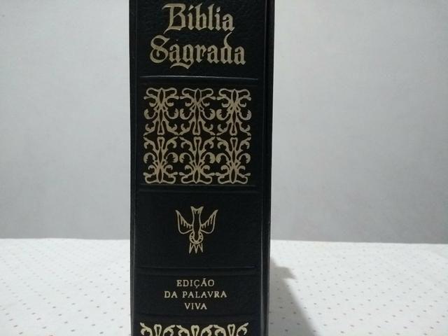Bíblia sagrada edição da palavra viva - Foto 6