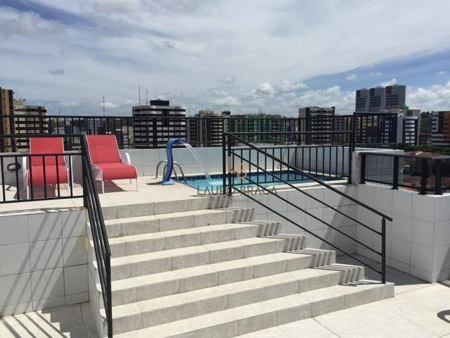Edf. Vivart Apartamento com 3 dormitórios à venda, 83 m² por R$ 420.000 - Jatiúca - Maceió - Foto 11