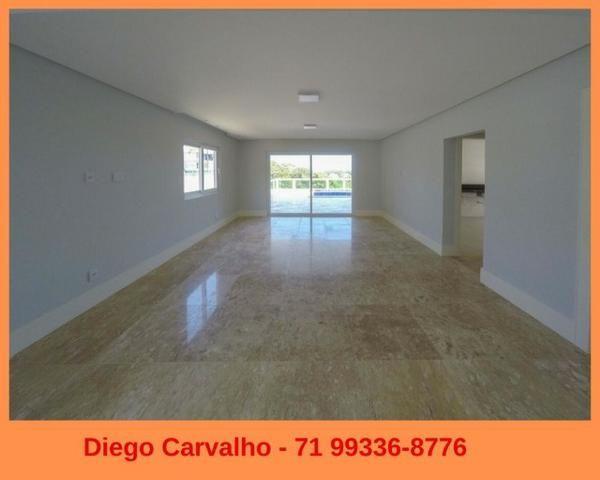Casa 4 Suites em Alphaville II - Fina acabamento (1) - Foto 4