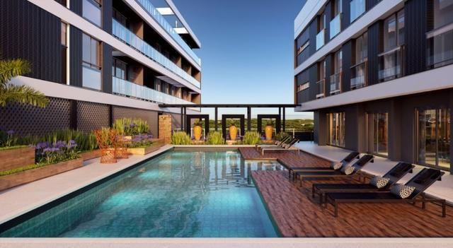 Cobertura elegante e exclusiva 2 suites Vista Praia Novo Campeche Florianopolis - Foto 5