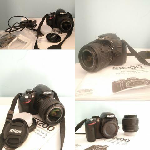Câmera D3200 E Lente 18/55