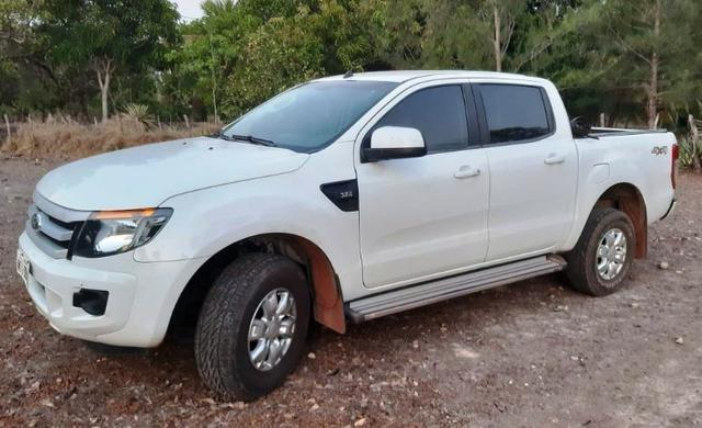 Ford Ranger XLS branca - Foto 4