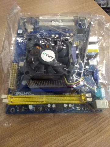 Athlon x2 dual core 2.1ghz am2 mb asrock n68-s ucc ddr2